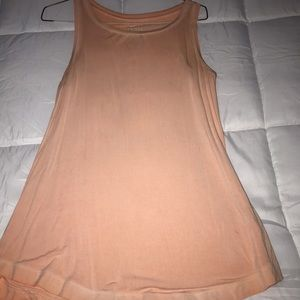 American Eagle light orange soft and sexy tank